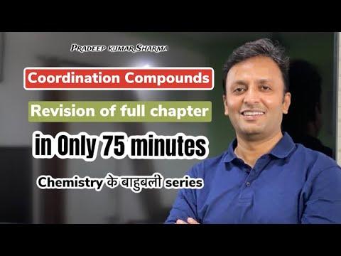 Coordination Compounds , class 12 chemistry