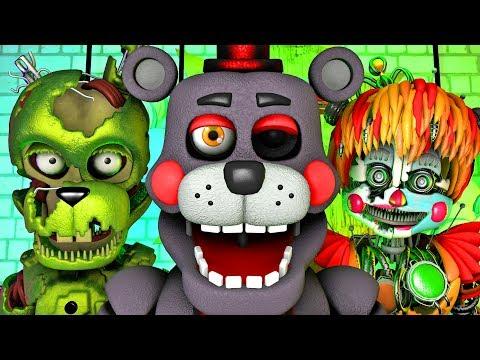 Five Nights at Freddy's Song (FNAF 6 SFM 4K Salvage)(Ocular