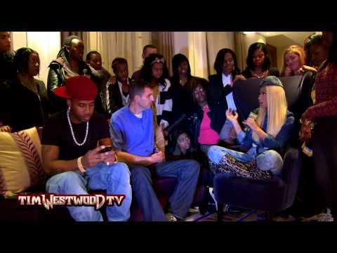 Nicki Minaj interviewed by Team Minaj UK - Westwood