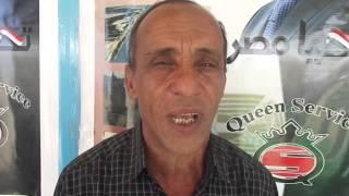 قناة السويس الجديدة: جندى بالجيش يضع علم مصر وصورة السيسي على قلبه