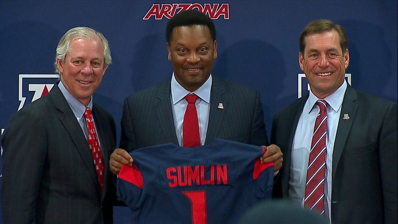 kevin-sumlin-introduced-as-arizona-football-s-head-coach-i-m-excited-to-be-a-wildcat