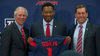 Kevin Sumlin introduced as Arizona football's head coach: 'I'm excited to be a Wildcat'