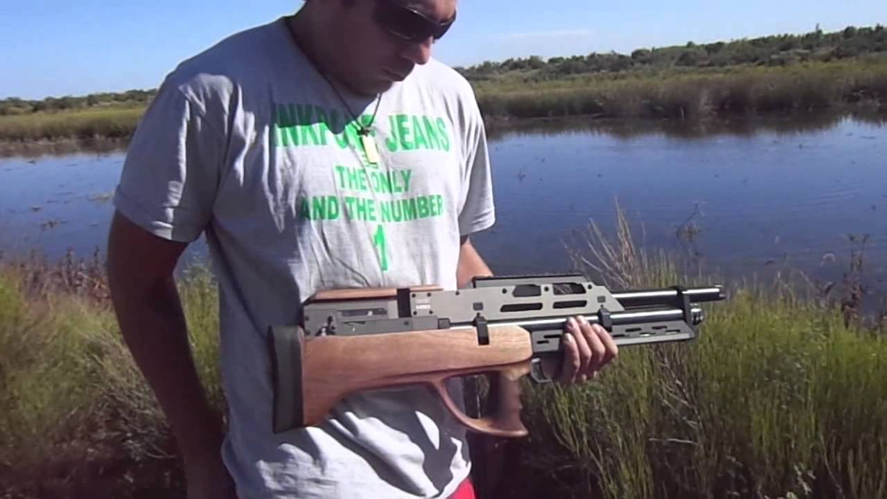 Evanix Conquest Speed Semi Auto Pcp Air Rifle: Evanix SEMI AUTO