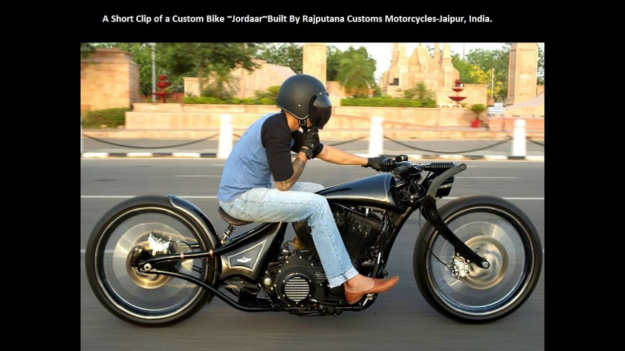 A Short Clip of a Custom Bike ~Jordaar~Built By Rajputana Customs  Motorcycles-Jaipur, India