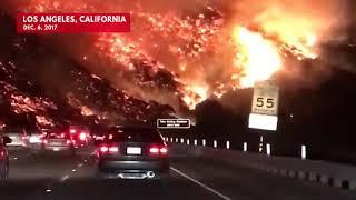 Los Angeles ,Californie énorme incendie 😱