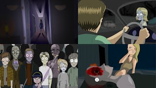9 Disturbing Animated Horror Stories (2020 Compilation)