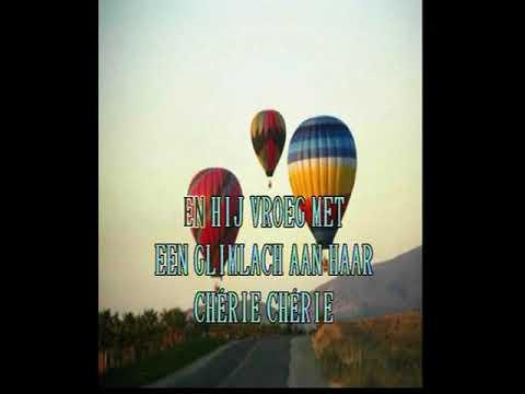 Eddy Wally -  Cherie ( KARAOKE ) Lyrics
