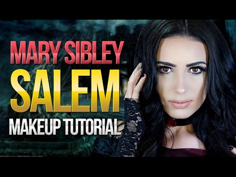❤️ Mary Sibley  Janet Montgomery Makeup Tutorial  Salem Witch TV Series  Victoria Lyn Beauty