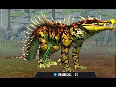 kaprosuchus level 40 dino jurassic world the game frmovies. Black Bedroom Furniture Sets. Home Design Ideas