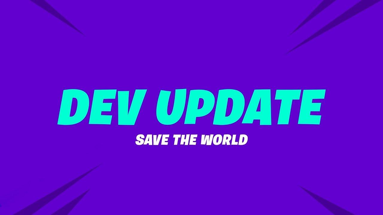 Save the World Dev Update (10/5)
