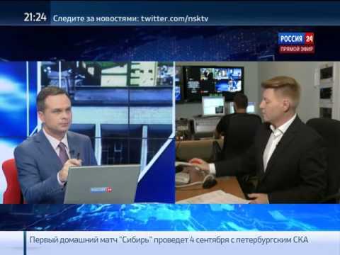 Глава Октябрьского района Новосибирска в прямом эф