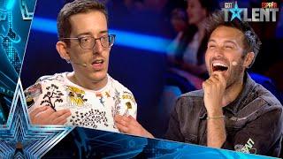 Este chico utiliza el HUMOR para superar todas las barreras | Audiciones 3 | Got Talent España 2021