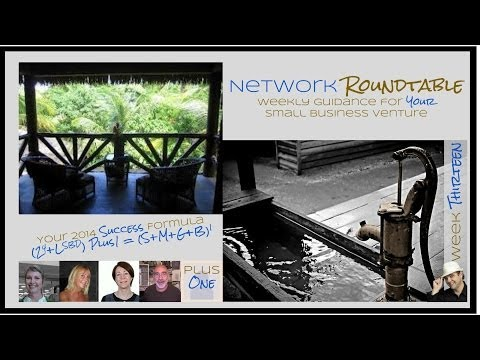 Network Roundtable: Weekly Motivation, Inspiration and Education for your Small Business Venture