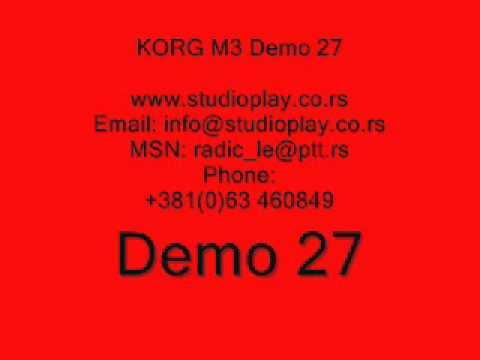 M3 Korg Set