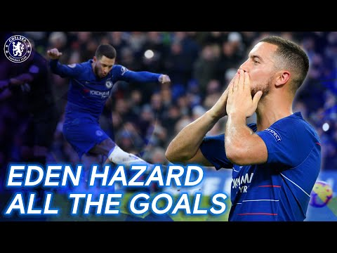 Eden Hazard: All The Chelsea Goals