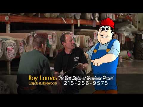 Roy Lomas Carpets Commercial - 2012 - YouTube