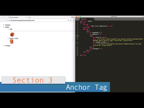 Part 3 (HTML) /// Lesson #6: Anchor Tag