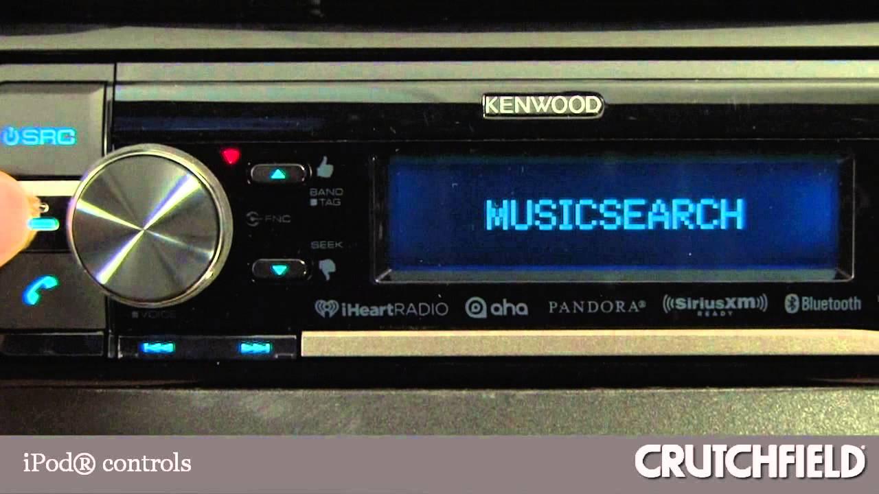 Kenwood Kdc Bt855u Cd Receiver Display And Controls Demo Bt562u Wiring Diagram Crutchfield Video