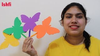 Colourful butterfly finger family nursery rhymes for children by Ishfi
