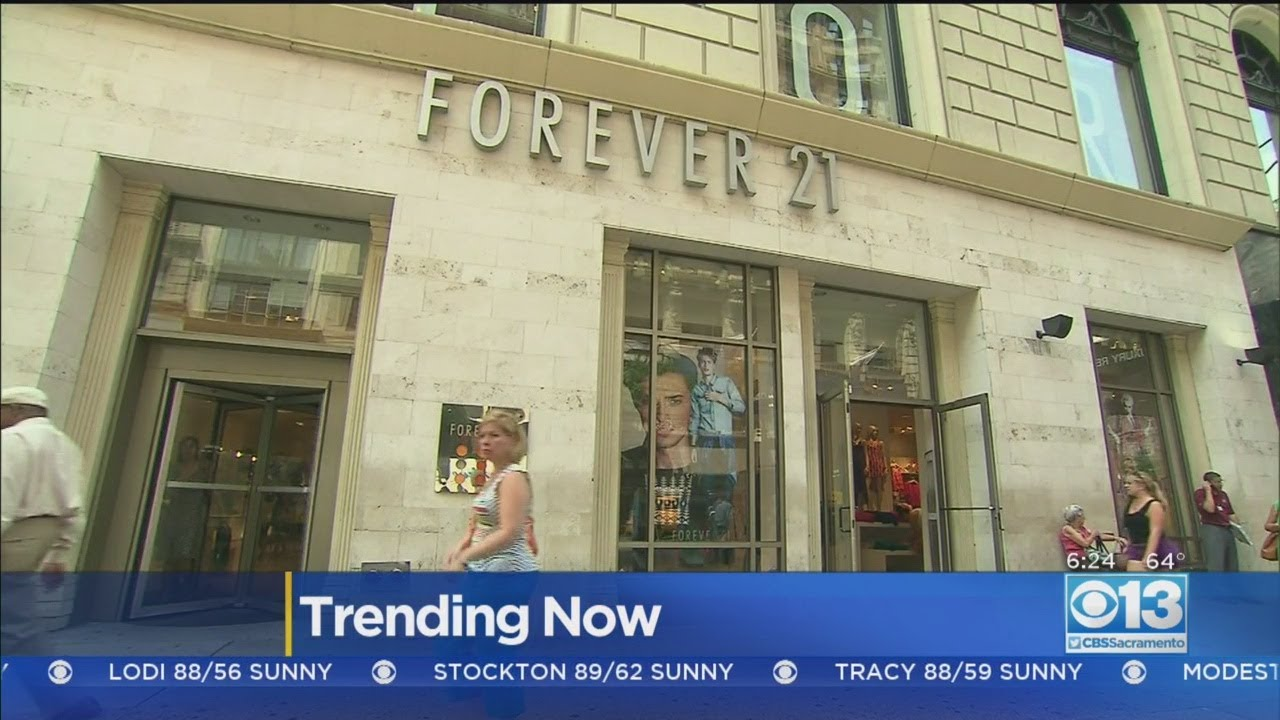 Forever 21 Prepares For Potential Bankruptcy Filing • The