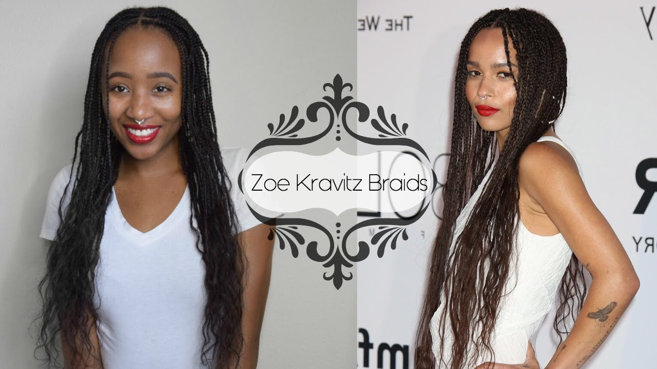 Braids With Human Hair Styles: EASY Light Weight Individual Braids