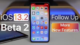 iOS 13.2 Beta 2 - Follow Up and More New features