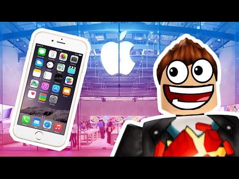 MY OWN APPLE STORE! (Roblox)