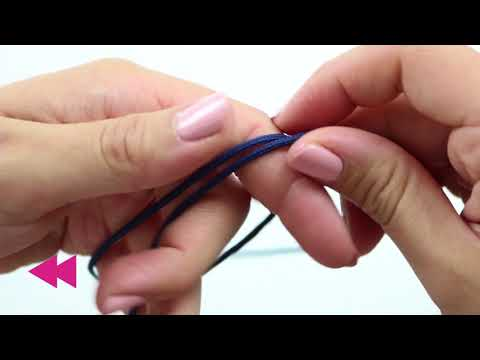 Handmade jewellery : Fashion surf cord bracelet ♡ DIY