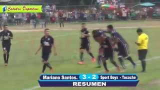 SPORT BOYS2-3 MARIANO SANTOS FINAL DEPARTAMENTAL 2015