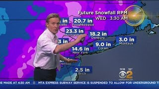 Blizzard Of 2017 Bearing Down On Tri-State Area