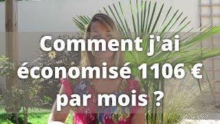 💰 COMMENT j'ai ÉCONOMISÉ 1106 EUROS par mois ? Mode de vie - Zéro Déchet - Minimalisme ✨