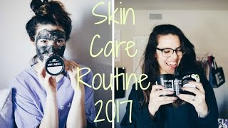 skin care routine 2017    oily skin    ft lush