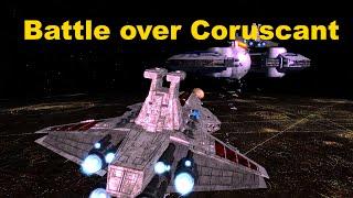 Battle over Coruscant - Homeworld 2