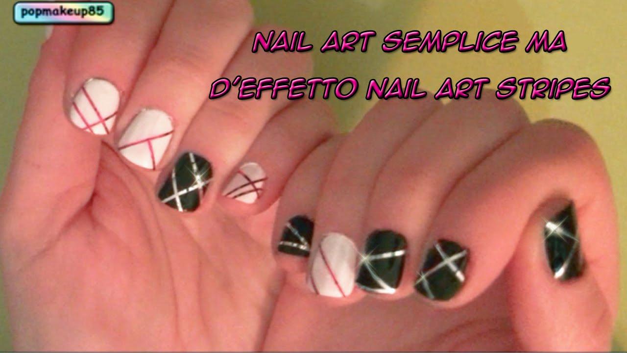 Fabuleux Nail art semplice ma d'effetto - Nail art facile e veloce per  ZT83