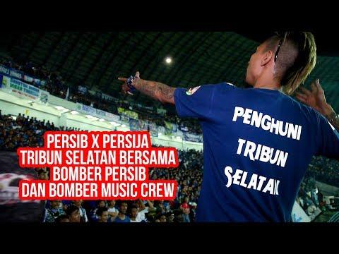 Babak Ke 2 Persib Vs Persija Tribun Selatan Bersama Bomber Persib dan Bomber Music Crew