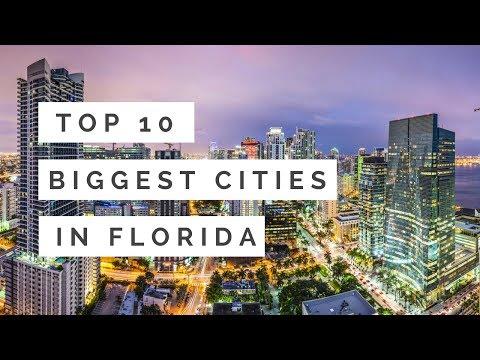 Top 10 Biggest Cities In Florida