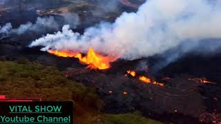 High Alert  More Lava Into the Ocean New Volcanic Eruption in Hawaii Spews