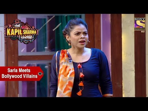 Sarla Meets Bollywood Villains – The Kapil Sharma Show