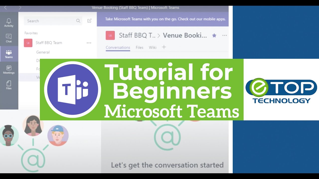 Microsoft Teams Tutorial For Beginners Office 365 Youtube