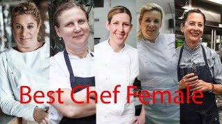 10 Best Chef Female in the World -- The Best Gallery Award