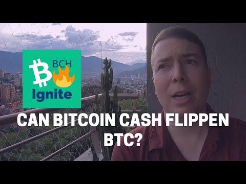 Can Bitcoin Cash BCH Flippen BTC?