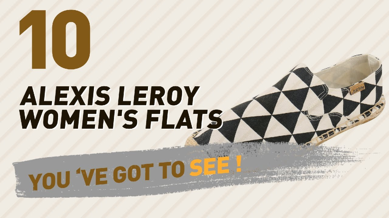50bac1755116 Alexis Leroy Women's Flats // New & Popular 2017 - YouTube