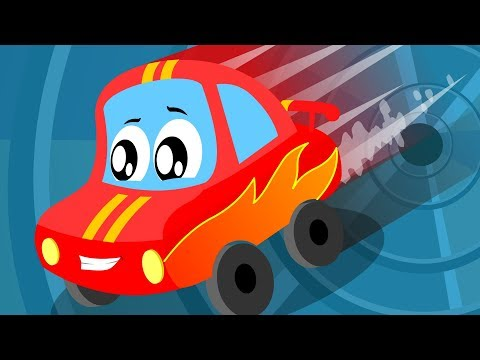 I like Speed | Little Red Car | Compilation Video For Children | Cartoon Song For Toddlers