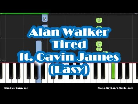 how-to-play-tired-by-alan-walker-ft.-gavin-james-on-piano