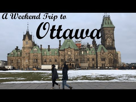 A Weekend in Ottawa | Things to do in Ottawa in Winter | Cinematic