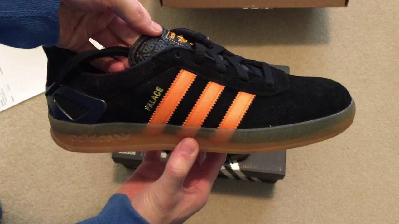 Adidas x Palace Pro (Core Black Bright Orange) Sneaker Unboxing ... 201ceb6fe
