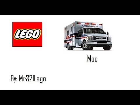 My lego golf cart ambulance moc youtube - Lego ambulance ...