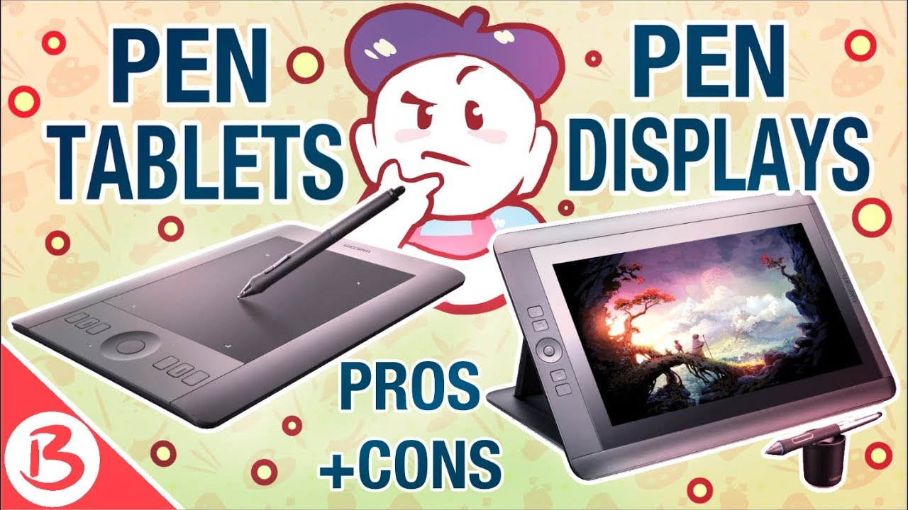 REGULAR ART TABLETS VS SCREEN TABLETS - HOW THEY WORK + PROS AND CONS -  YouTube