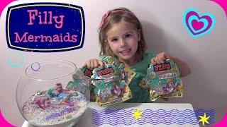 Filly Mermaids Glitter Golden Edition - Meerjungfrauen mit Swarovski - Blind Bags Opening