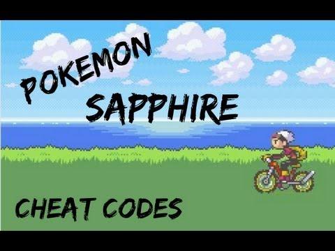 Pokemon Sapphire Gameshark Codes